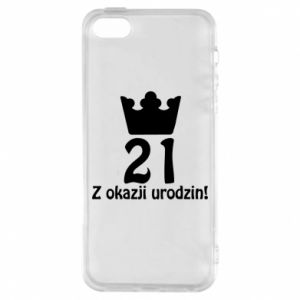 Phone case for iPhone 5/5S/SE Happy Birthday! 21 years