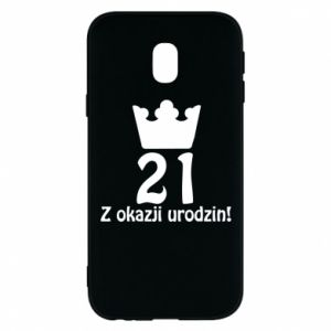 Phone case for Samsung J3 2017 Happy Birthday! 21 years