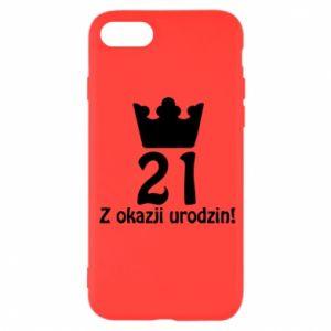 iPhone SE 2020 Case Happy Birthday! 21 years