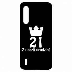 Xiaomi Mi9 Lite Case Happy Birthday! 21 years