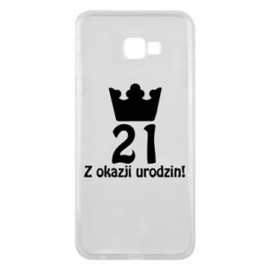 Phone case for Samsung J4 Plus 2018 Happy Birthday! 21 years