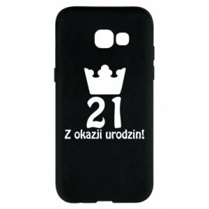 Phone case for Samsung A5 2017 Happy Birthday! 21 years