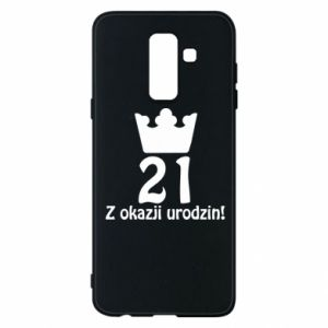 Phone case for Samsung A6+ 2018 Happy Birthday! 21 years