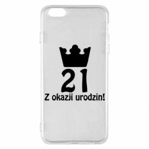 Etui na iPhone 6 Plus/6S Plus Wszystkiego najlepszego! 21 lat