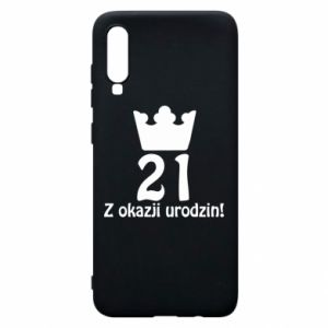 Phone case for Samsung A70 Happy Birthday! 21 years