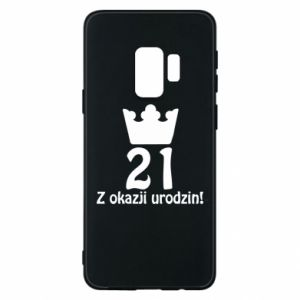 Phone case for Samsung S9 Happy Birthday! 21 years
