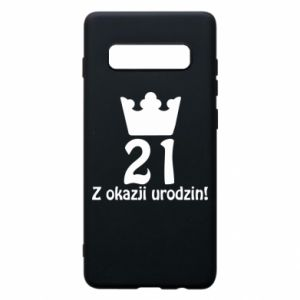 Phone case for Samsung S10+ Happy Birthday! 21 years