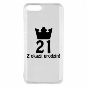 Etui na Xiaomi Mi6 Wszystkiego najlepszego! 21 lat