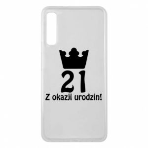 Phone case for Samsung A7 2018 Happy Birthday! 21 years