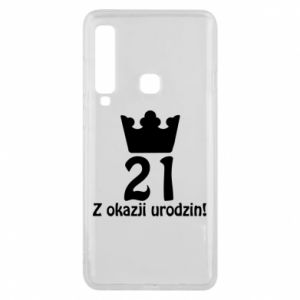 Phone case for Samsung A9 2018 Happy Birthday! 21 years