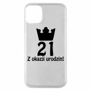 Phone case for iPhone 11 Pro Happy Birthday! 21 years