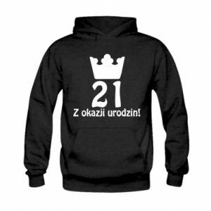Kid's hoodie Happy Birthday! 21 years