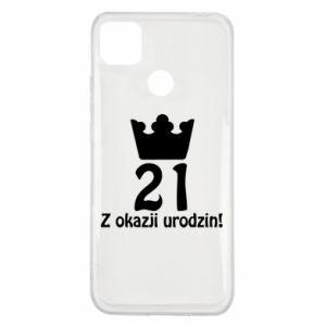 Xiaomi Redmi 9c Case Happy Birthday! 21 years