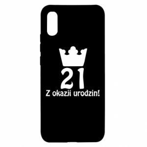 Xiaomi Redmi 9a Case Happy Birthday! 21 years