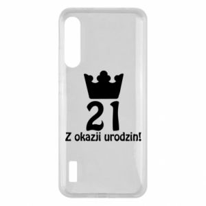 Xiaomi Mi A3 Case Happy Birthday! 21 years