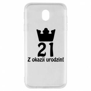 Samsung J7 2017 Case Happy Birthday! 21 years