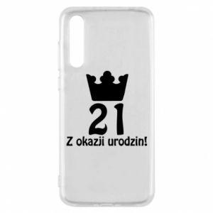 Huawei P20 Pro Case Happy Birthday! 21 years