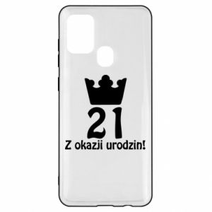 Samsung A21s Case Happy Birthday! 21 years