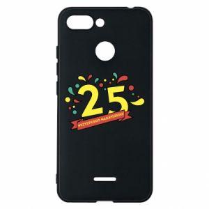 Phone case for Xiaomi Redmi 6 Happy Birthday!