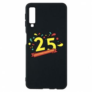 Phone case for Samsung A7 2018 Happy Birthday!
