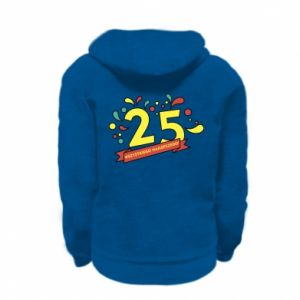 Kid's zipped hoodie % print% Happy Birthday!