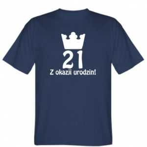 Koszulka Wszystkiego najlepszego! 21 lat