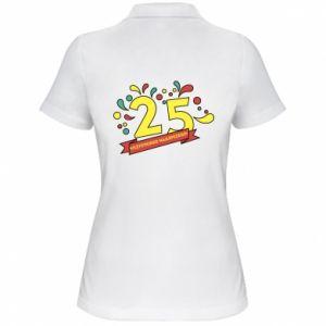 Women's Polo shirt Happy Birthday!