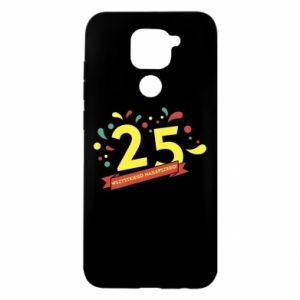 Xiaomi Redmi Note 9 / Redmi 10X case % print% Happy Birthday!
