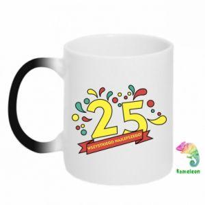 Chameleon mugs Happy Birthday!