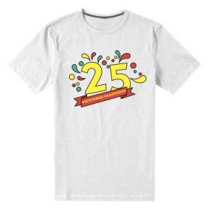 Męska premium koszulka Wszystkiego najlepszego!