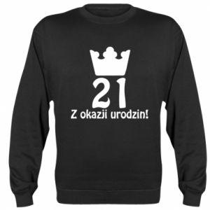 Bluza (raglan) Wszystkiego najlepszego! 21 lat