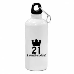 Water bottle Happy Birthday! 21 years