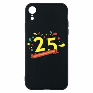 Phone case for iPhone XR Happy Birthday!