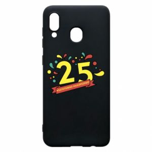 Phone case for Samsung A20 Happy Birthday!