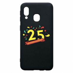 Phone case for Samsung A40 Happy Birthday!