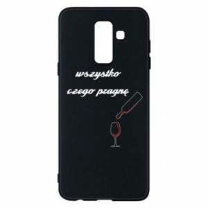 Phone case for Samsung A6+ 2018 All i want