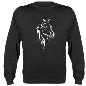 Bluza (raglan) Nadruk Koń - PrintSalon