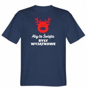 Koszulka męska Wyjątkowe Swięta