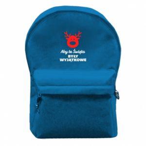 Plecak z przednią kieszenią Wyjątkowe Swięta