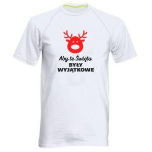 Koszulka sportowa męska Wyjątkowe Swięta