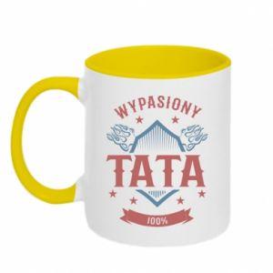Two-toned mug Awesome papa