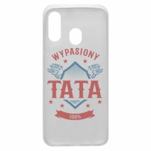 Phone case for Samsung A40 Awesome papa