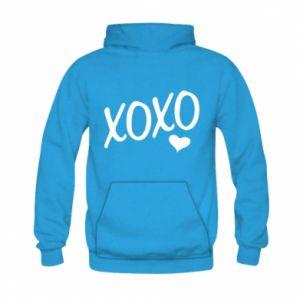 Kid's hoodie Xo-Xo