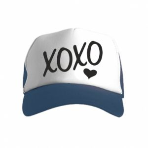 Kid's Trucker Hat Xo-Xo