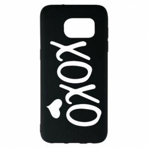 Samsung S7 EDGE Case Xo-Xo