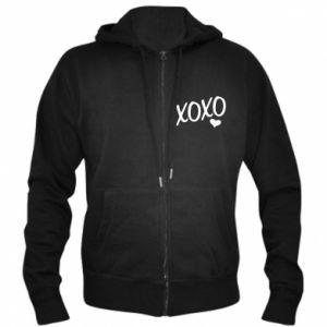 Men's zip up hoodie Xo-Xo