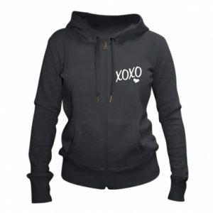 Women's zip up hoodies Xo-Xo