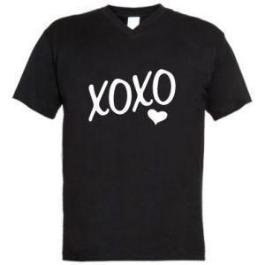 Men's V-neck t-shirt Xo-Xo