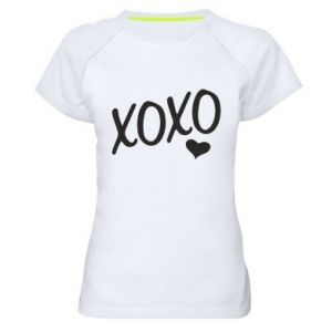 Women's sports t-shirt Xo-Xo