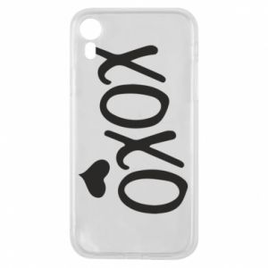 Phone case for iPhone XR Xo-Xo